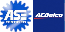 ASE Certified and ACDelco Parts